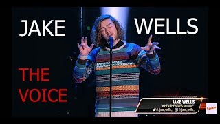 Jake Wells - Did you feel it ? The Voice 2018 Blind Auditions   AFTW KING reaction