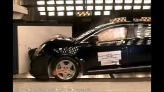 NHTSA - 2010 Buick LaCrosse - 20 Mph (Unbelted) Right Side Angled Frontal Impact Crash Test