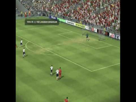 Fifa 09 Distance Goals HD Video