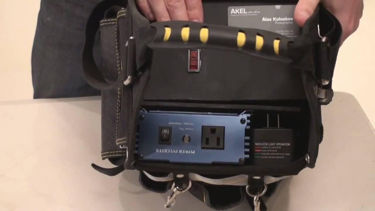 Diy Portable Power Vagabond Ii For Paul C Buff Monolights