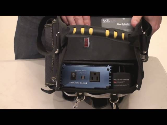 DIY portable power Vagabond II for Paul C. Buff monolights