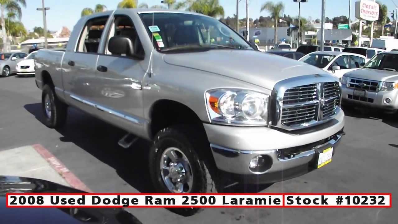 2008 Used Dodge Ram 2500 MEGA CAB 4x4 For Sale in San ...