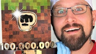 I make PewDiePie's replacement 100 MIL subscriber award  (and mail it to him)