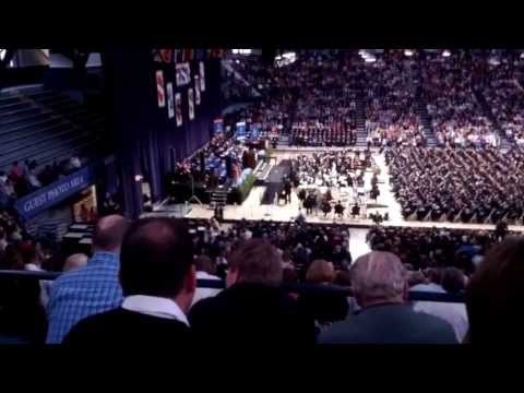John Green speaking to Butler graduates...May 11, 2013