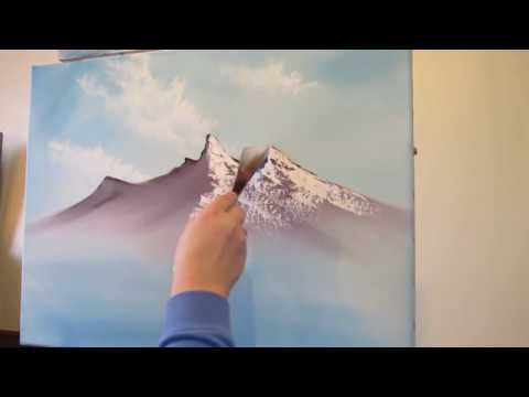 Mountain Scene Part 1 Wet on Wet Painting Technique