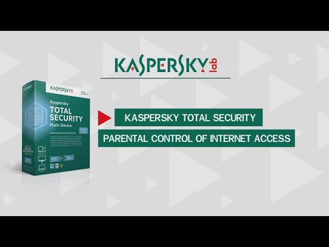 Parental Control in Kaspersky Total Security