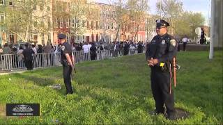 video Five of Six Cops Give Statement After Freddie Gray's Death Five of the six police officers involved in the arrest of a man in Baltimore who later died in police custody this week have voluntarily...