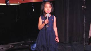 Fight Song - Maisie 4 years old - Spring Recital - Hills Academy