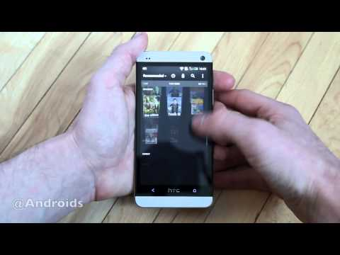 HTC One TV control hands-on