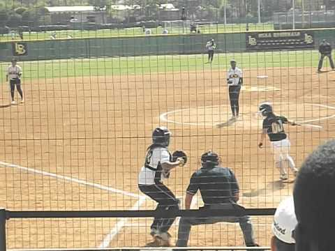Erin Jones-Wesley Crosses Up Hitter For Game-Opening Strikeout