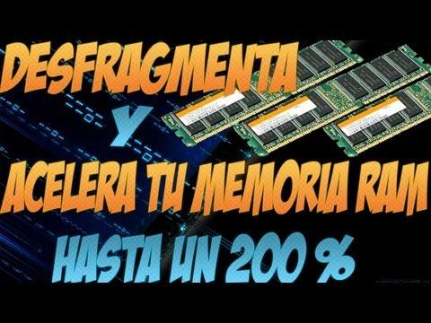 Como Desfragmentar y Acelerar Memoria RAM 200% mas rapido 2014 HD
