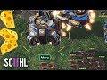 THE ZERG CHEESE MASTER! - Starcraft 2: Maru vs MeomaikA
