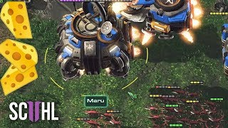 THE ZERG CHEESE MASTER! - Starcraft 2: Maru vs MeomaikA