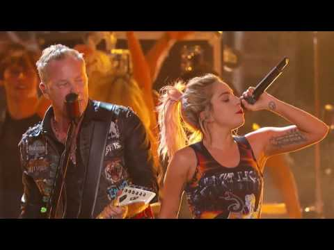 Metallica & Lady Gaga - Moth Into Flame (rehearsal)