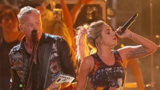 Metallica & Lady Gaga - Moth Into Flame rehearsal