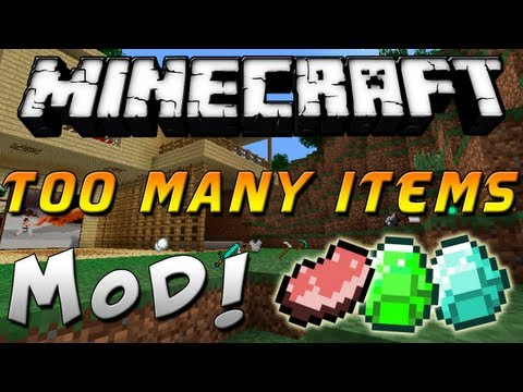 Minecraft 1. 6. 4 — Como instalar Too Many Items MOD — ESPAÑOL TUTORIAL