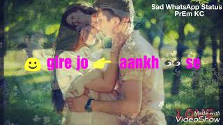 Dekhe Jo Khwaab The..by Sad WhatsApp Status....PrEm KC 529.07 KB