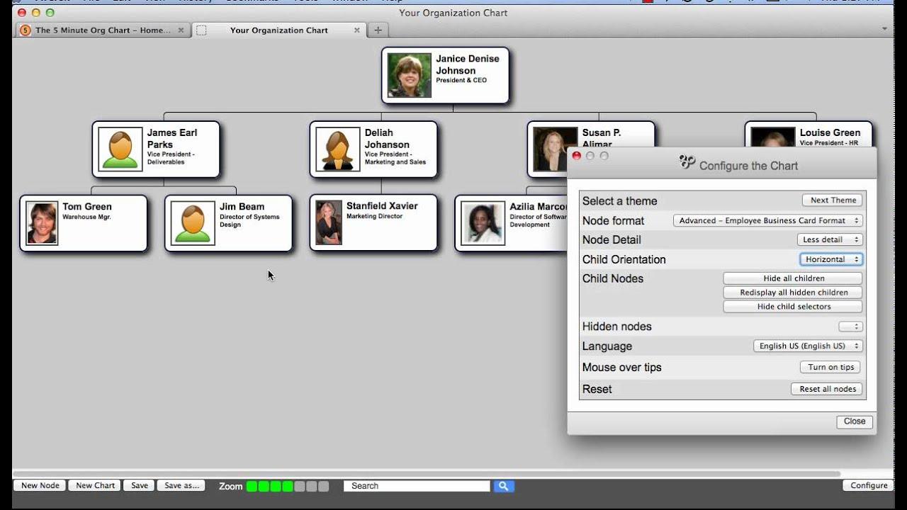 Organizational chart maker online