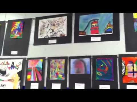 Woodmont Middle School Art Show 2012