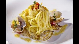 Espaguetis con frutos de mar.Receta facil/Italiana/Cmoo hacer