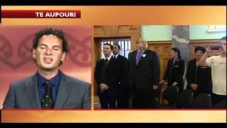 Te Aupouri sign Deed of Settlement -- we talk with Peter Lucas Jones