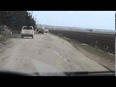 Qasioun news : armed syrian women in countryside of Aleppo 12-2-2016
