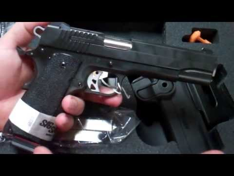 Sig Sauer 1911 Tacpac Review @ Trigger Happy