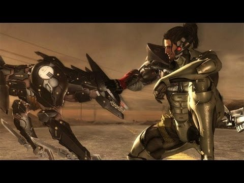 Metal Gear Rising Revengeance JetStream Sam DLC Gameplay Trailer