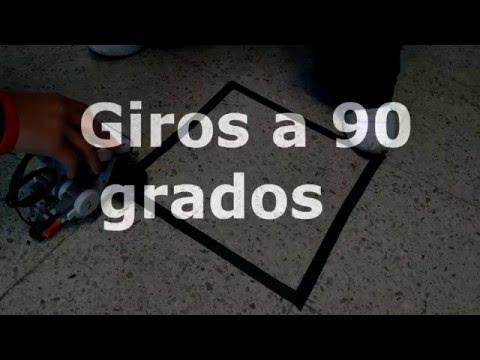 Giros 90 Grados Con LEGO, Colegio Anglo