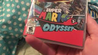 Review of Mario odyssey for the Nintendo Switch ( I know I forgot my intro)