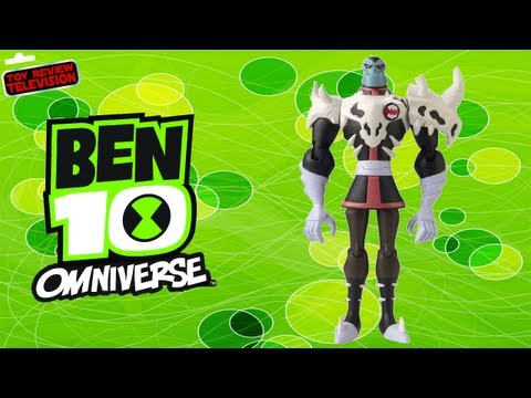 Ben 10 Omniverse Khyber Action Figure Toy Review Unboxing. Bandai