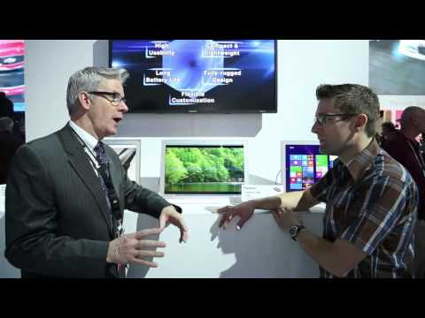 CES 2014 - The Panasonic 4K Tablet PC Lineup