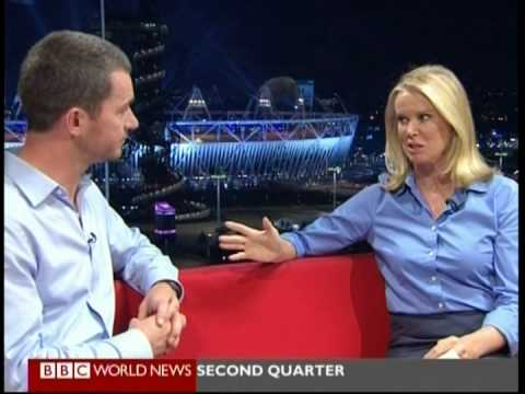 Sport Psychologist James Beale Talks on BBC World News Ahead of The 2012 Olympic Games
