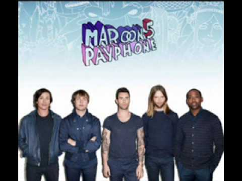 Maroon 5 - Payphone (No Rap Version) W/ Lyrics