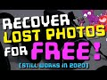 How to recover lost photos & videos from memory cards with free software for Windows