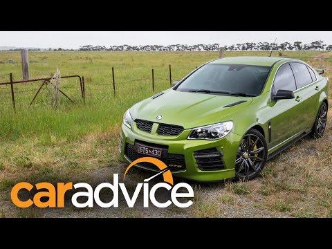 2016 HSV GTS Review - GenF-2 430kW / 575HP Australian Sports Sedan.