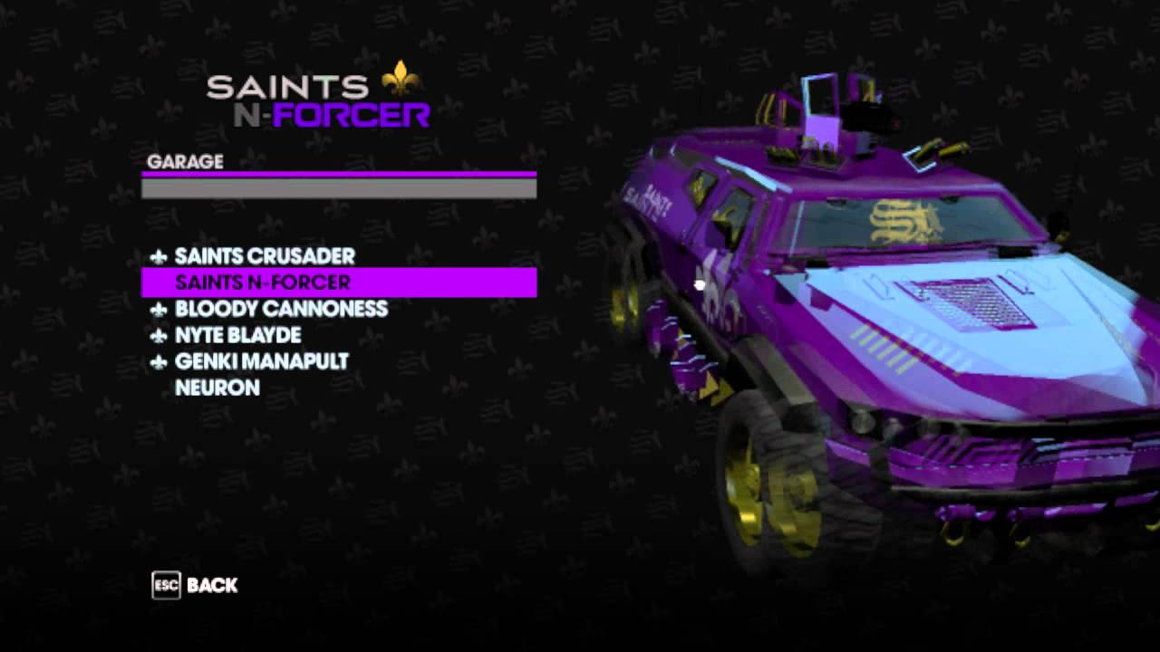 saints row 3 weapons and how to get them