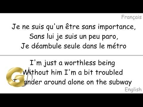 Indila - Dernière Danse (Last Dance) Paroles (Lyrics) [Nightcore]