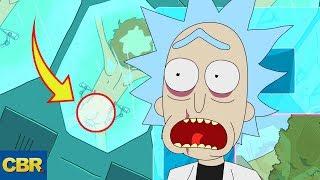 10 DARK SECRETS Rick And Morty Couldn