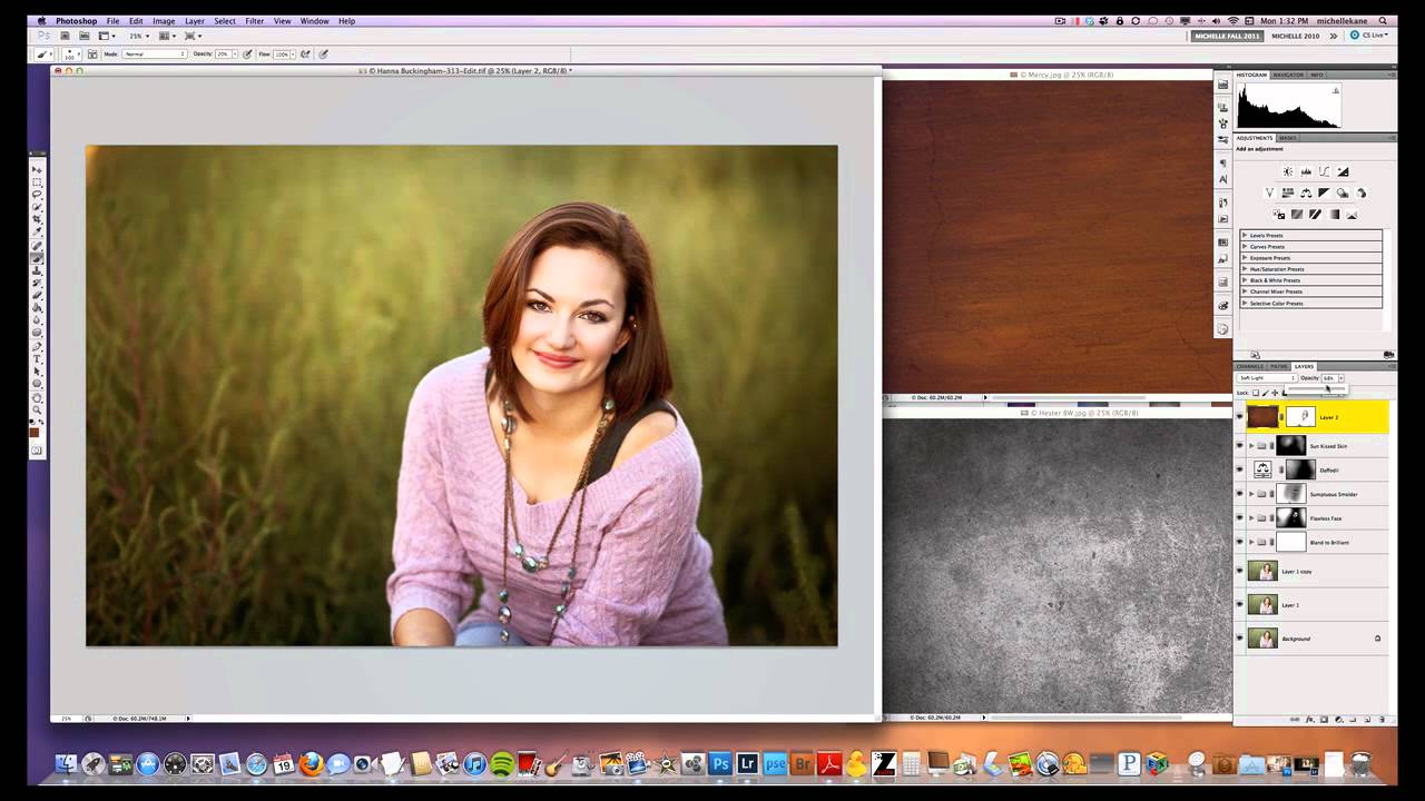 how to add another photo to photoshop layer