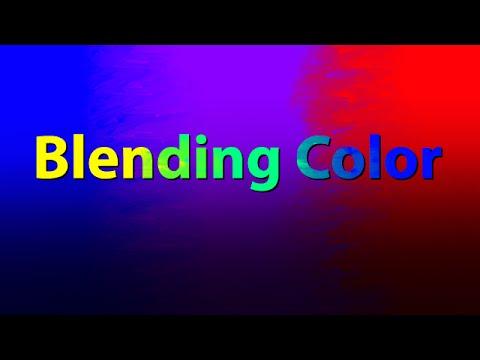 Blending Color With Corel Painter