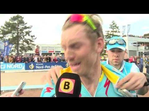 Interview met Lars Boom na Parijs-Roubaix