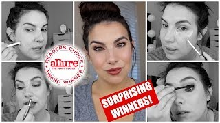 TESTED: Allure 2018 Readers' Choice Award Winning Makeup