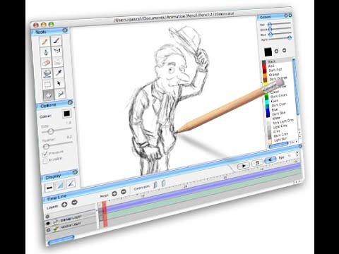 Анимация рисовать на компьютере