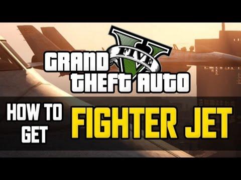 GTA 5 How To Get FIGHTER JET - GTA V Best Way To Get FIGHTER JET (GTA5 Tutorial)