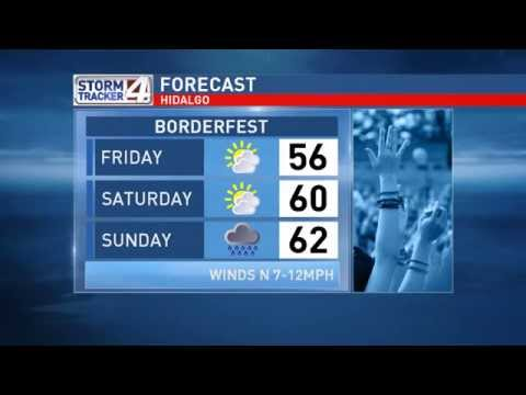 Bryan's Weather Forecast for the Rio Grande Valley