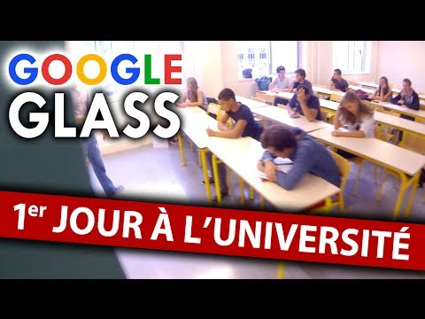 GOOGLE GLASS: 1er jour à l'université