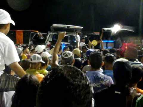 Sound Car. El temblor Vs. El perla negra