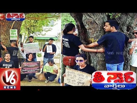 Delhi Residents Launch Hug A Tree Campaign To Save Trees To Be Cut For Flats | Teenmaar News
