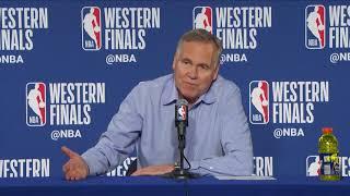 Mike D'Antoni Postgame Interview - Game 3 | Rockets vs Warriors | 2018 NBA West Finals